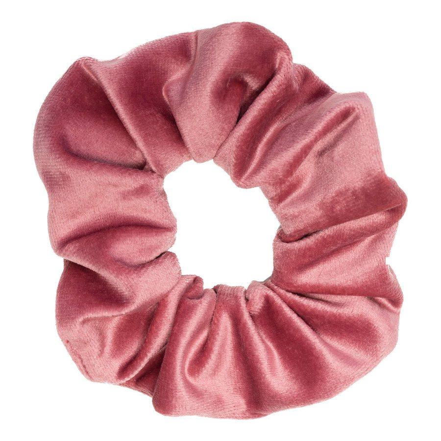 DARK Velvet Scrunchie Dusty Rose
