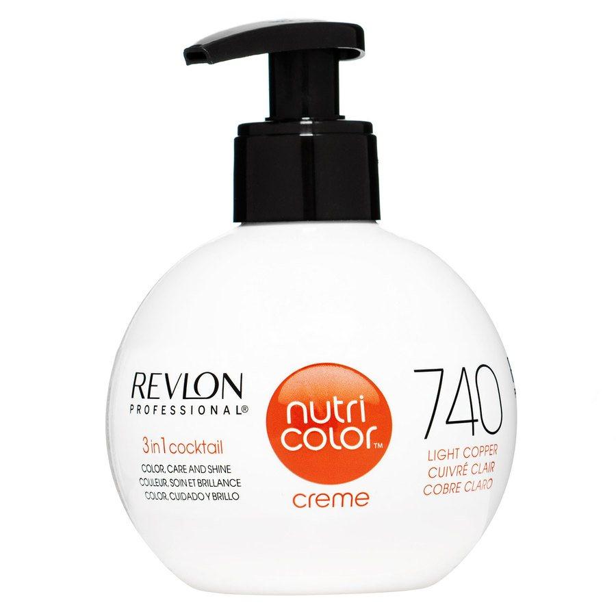 Revlon Professional Nutri Color Creme 270 ml #740 Light Copper