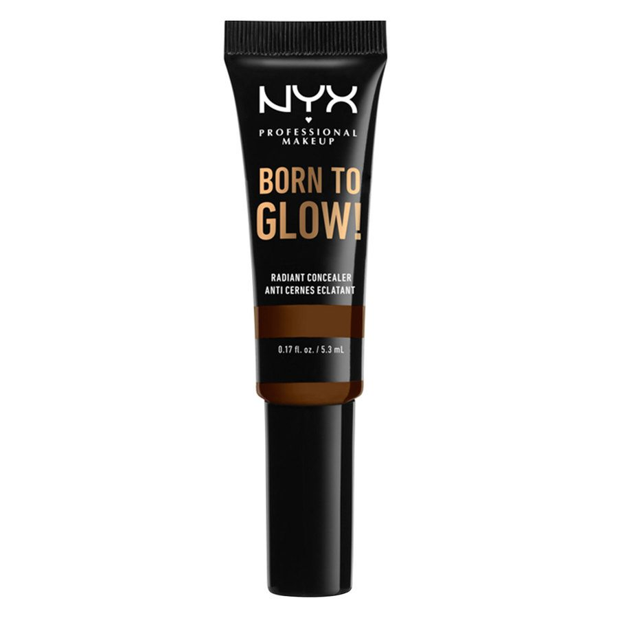 NYX Professional Makeup Born to Glow Radiant Concealer Walnut 5,3 ml