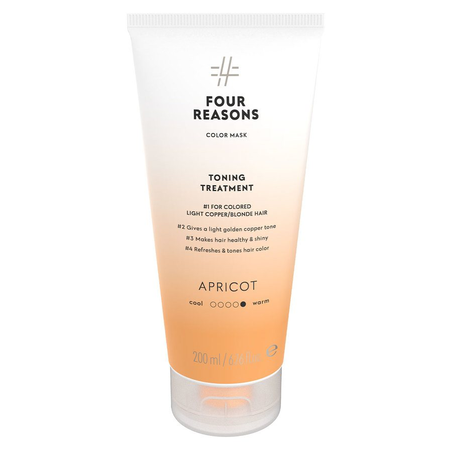 Four Reasons Color Mask Toning Shampoo Apricot 250 ml