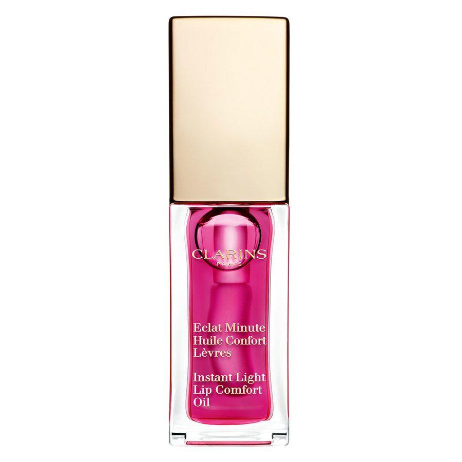 Clarins Instant Light Lip Comfort Oil #02 Raspberry 7 ml