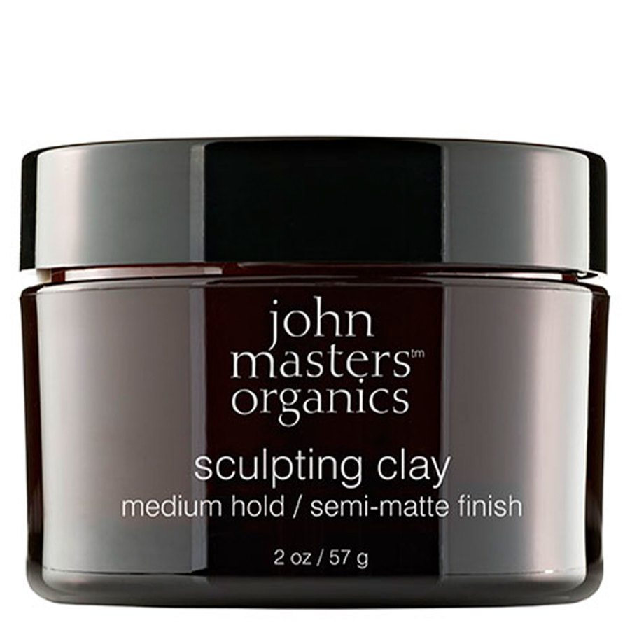 John Masters Organics Sculpting Clay Medium Hold 57 g