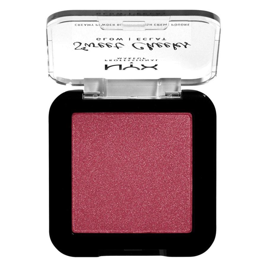 NYX Professional Makeup Sweet Cheeks Creamy Powder Blush Glowy Risky Business 5 g