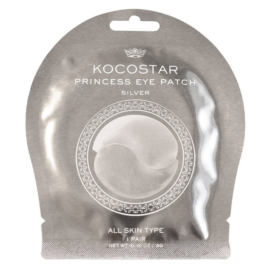Kocostar Princess Eye Patch Silver 1 par