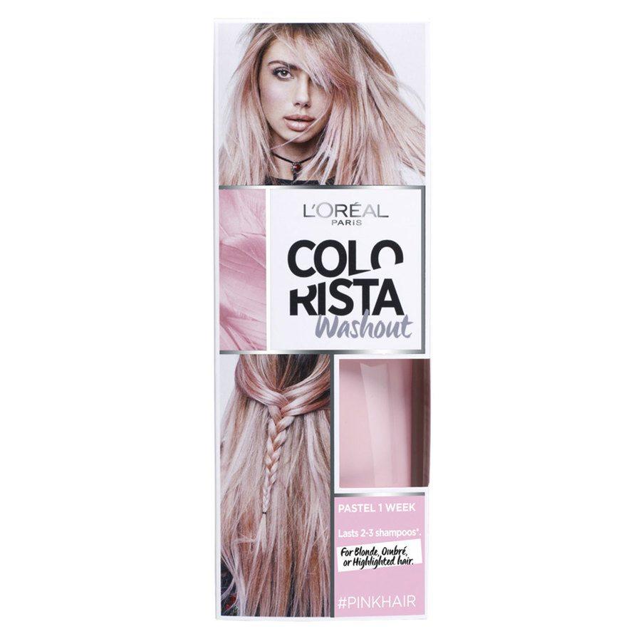 L'Oréal Paris Colorista 1 Week Washout 2 Pink 80 ml