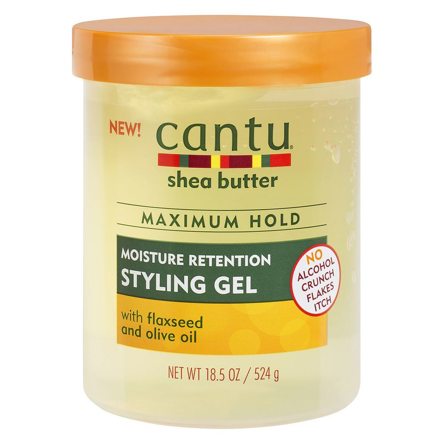 Cantu Shea Butter Maximum Hold Moisture Retention Styling Gel 524 g