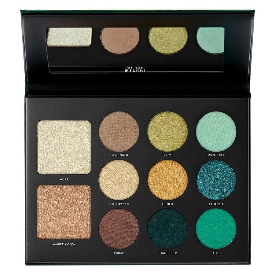 Milani Cosmetics Gilded Jade Hyper Pigmented Eyeshadow Palette