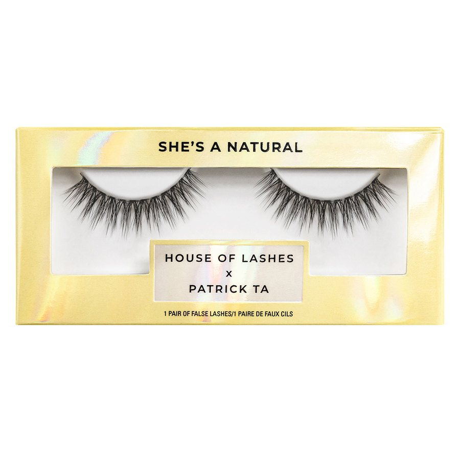 House of Lashes x Patrick Ta She's a Natural