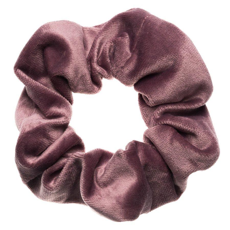 DARK Velvet Scrunchie Dusty Grape