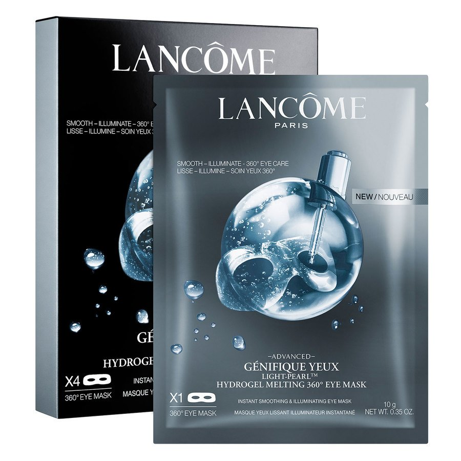 Lancôme Génifique Light-Pearl Hydrogel Melting 360 Eye Mask 4x24 g