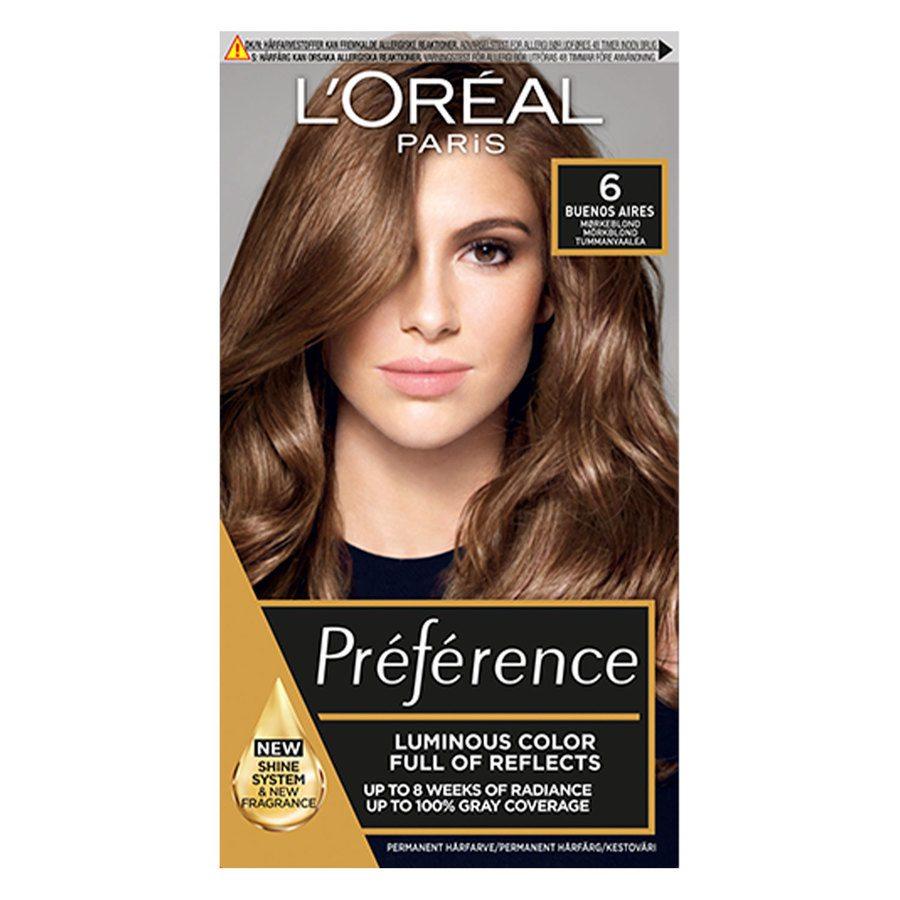 L'Oréal Paris Préférence Core Récital 6.0