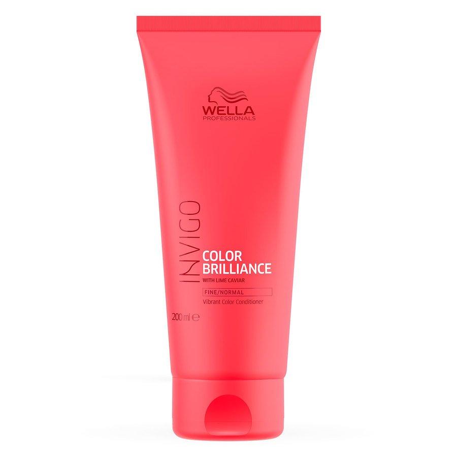 Wella Professionals Invigo Color Brilliance Conditioner Fine Normal Hair 200ml
