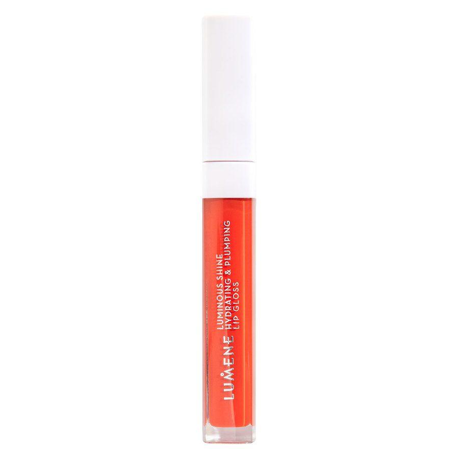 Lumene Luminous Shine Hydrating & Plumping Lip Gloss 4 Bright Coral 5 ml