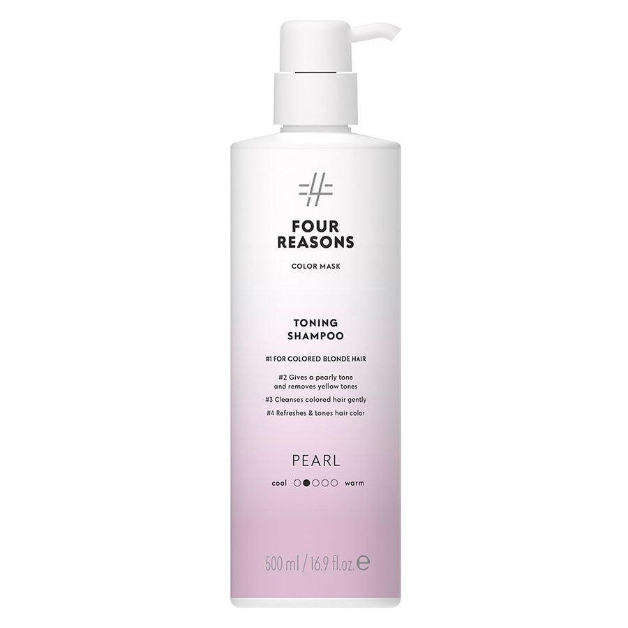 Four Reasons Color Mask Toning Shampoo Pearl 500 ml