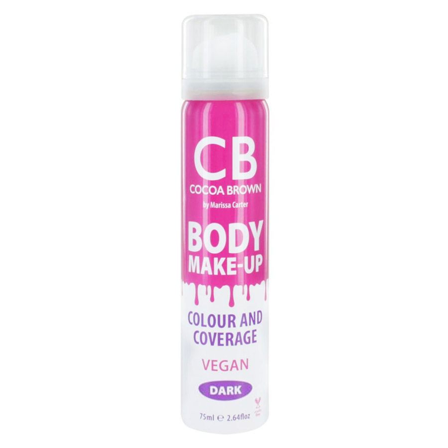Cocoa Brown Body Make-Up Vegan Colour & Coverage Dark 75 ml
