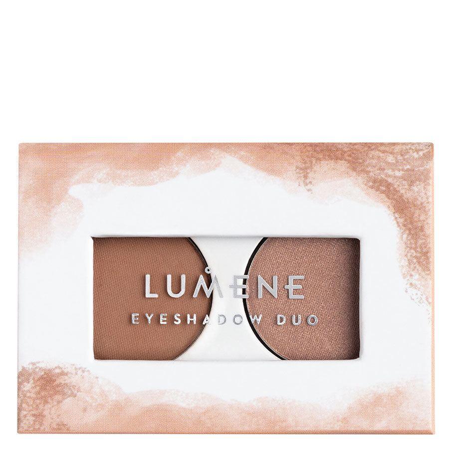 Lumene Bright Eyes Eyeshadow Duo 2 Earthy Nudes 3,2 g