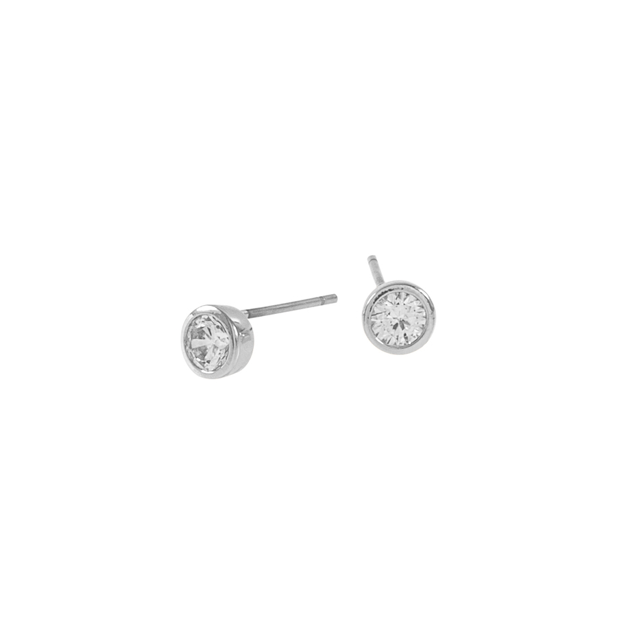 Snö of Sweden Noice Small Earring Silver/Clear