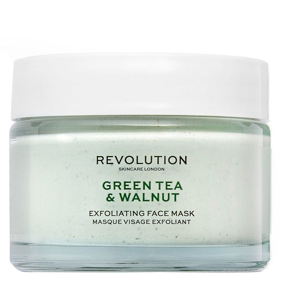 Revolution Skincare Green Tea & Walnut Exfoliating Face Mask 50 ml