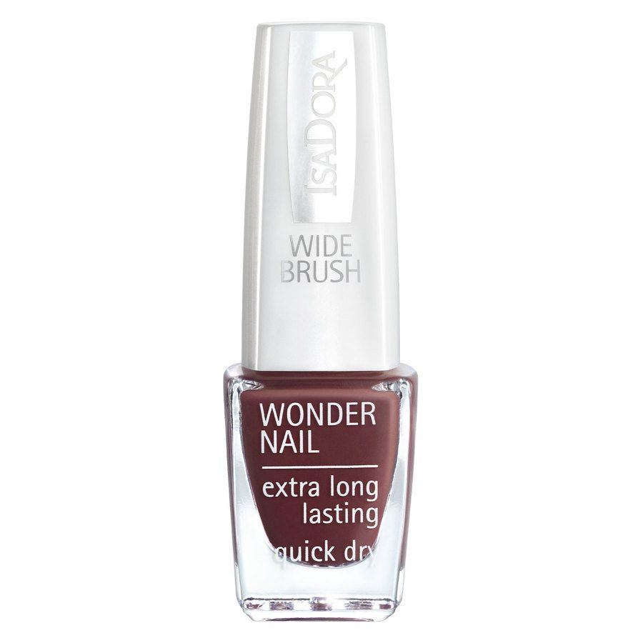 IsaDora Wonder Nail Wide Brush #423 Down Town Brown 6ml