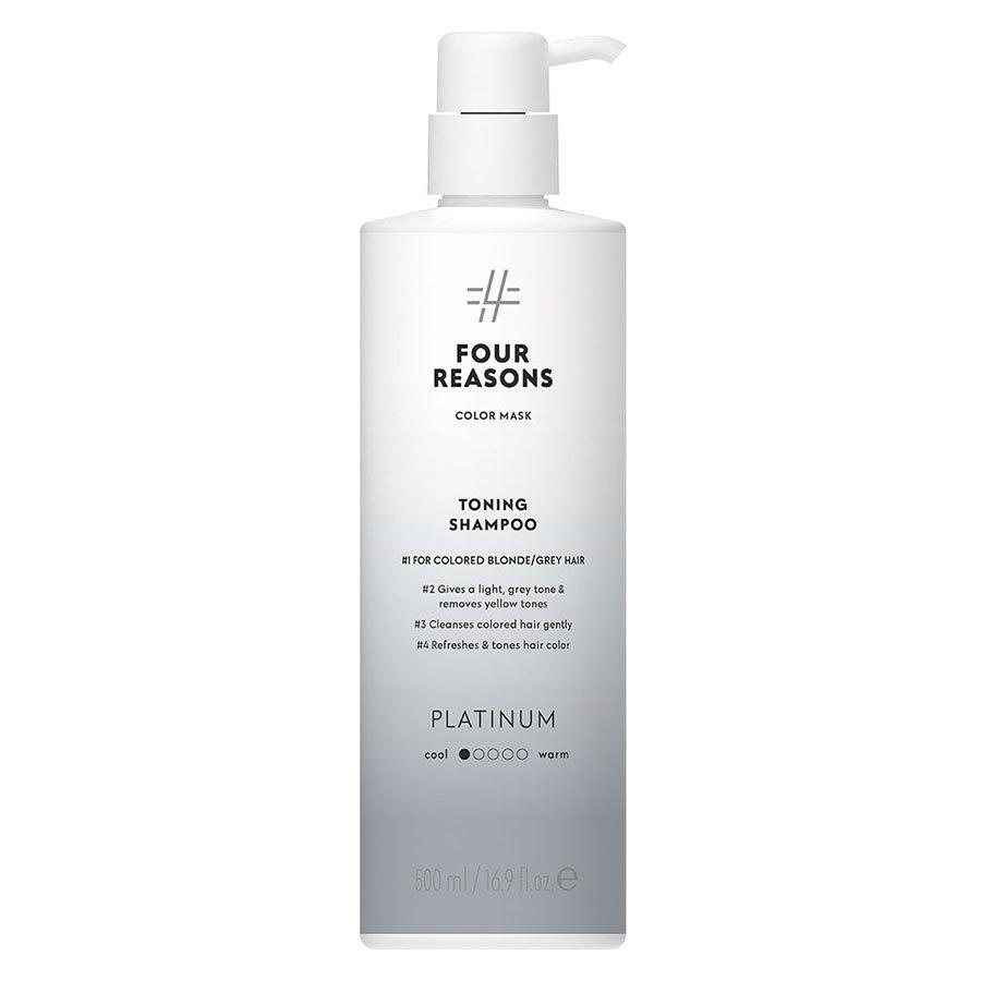Four Reasons Color Mask Toning Shampoo Platinum 500 ml
