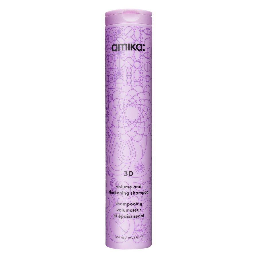 Amika 3D Volumizing And Thickening Shampoo 300ml