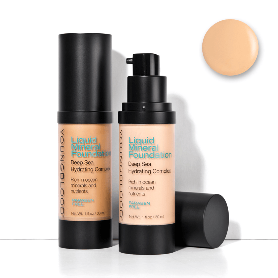 Youngblood Liquid Mineral Foundation Sand 30 ml
