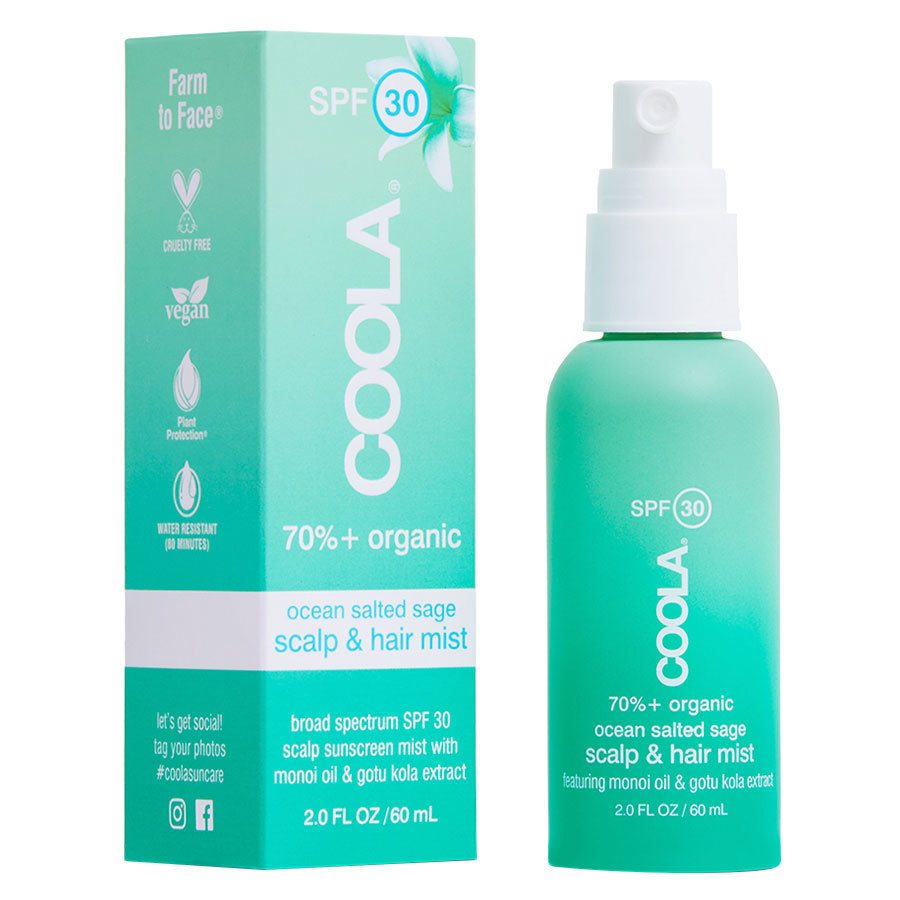 Coola Daily Protection SPF30 Organic Scalp & Hair Mist 60 ml