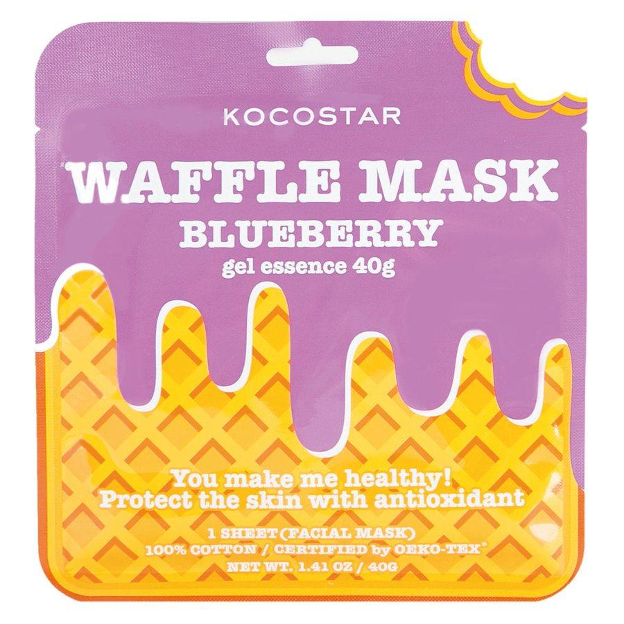 Kocostar Waffle Mask Blueberry 40 g