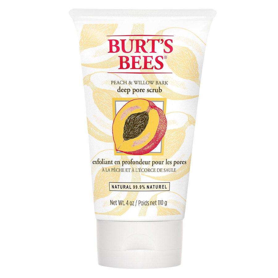 Burt's Bees Peach & Willowbark Deep Pore Scrub 110 g
