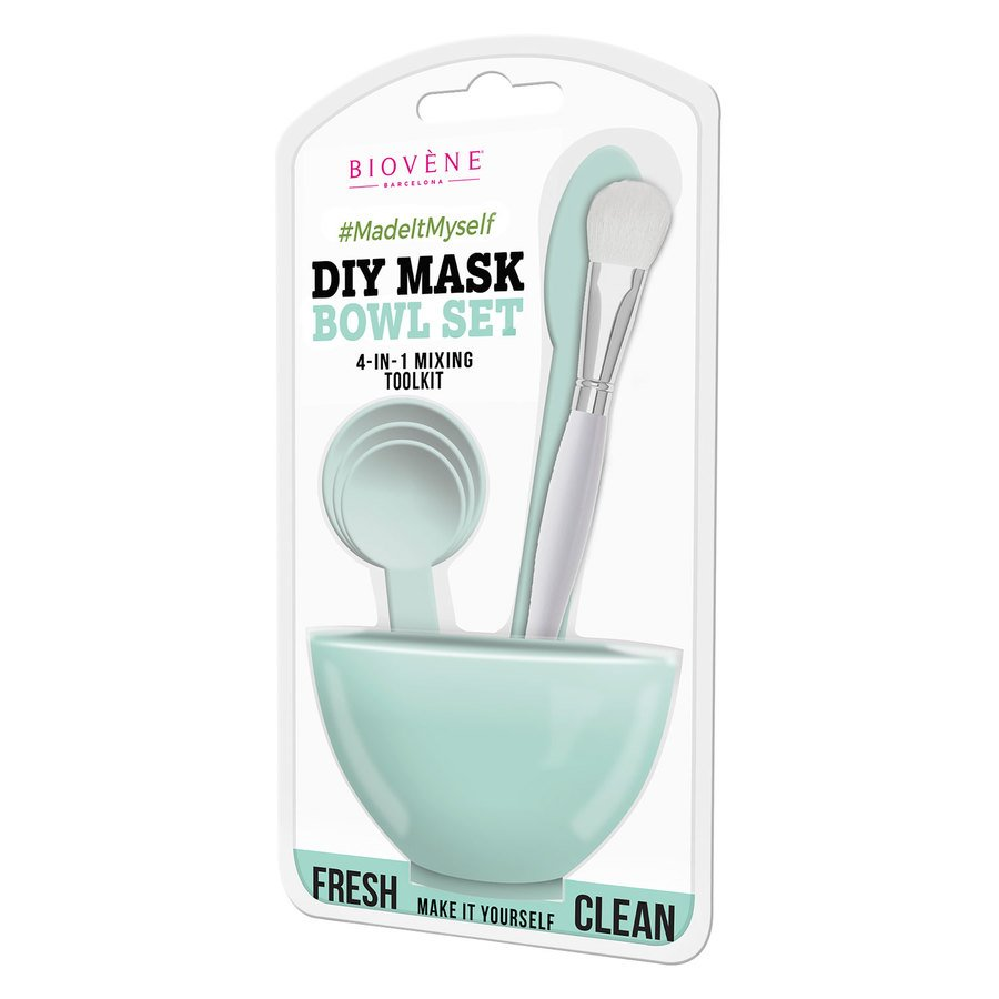 Biovène DIY Mask Bowl Set, 4-in-1 Green