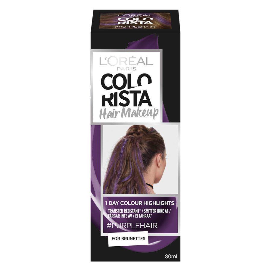 L'Oréal Paris Colorista Hair Makeup 17 Purple