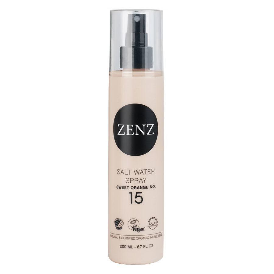 Zenz Organic No. 15 Salt Water Spray Sweet Orange Medium Hold 200 ml