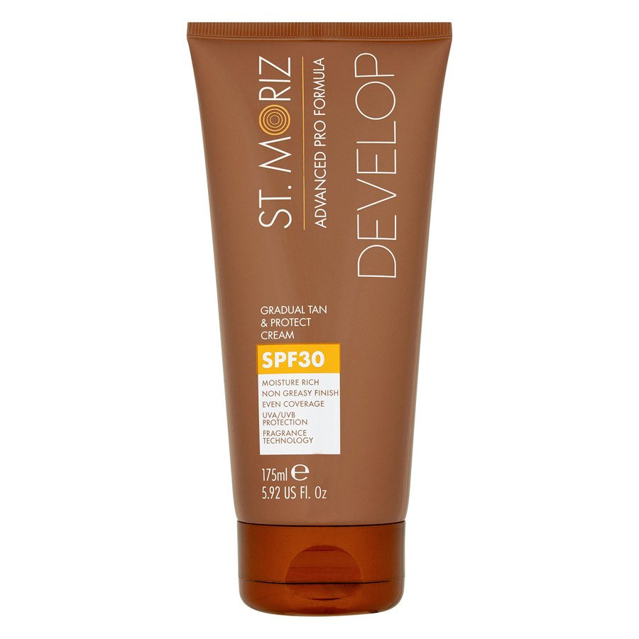 St. Moriz Advanced Pro Formula Develop Graudal Tan & Protect Cream SPF30 175 ml