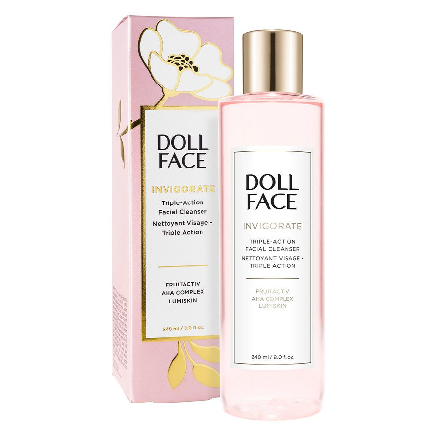 Doll Face Invigorate Triple-Action Facial Cleanser 240 ml