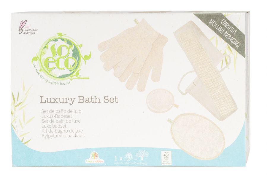 So Eco Luxury Bath Set 4 st
