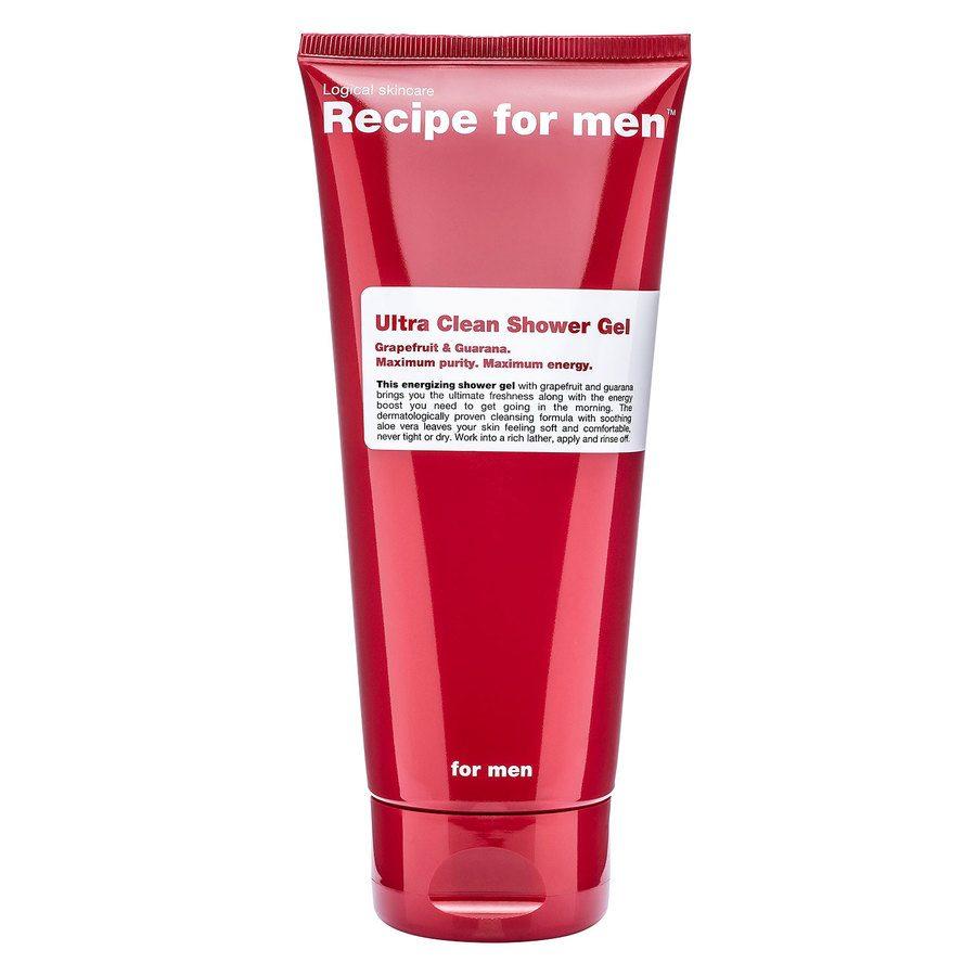 Recipe For Men Ultra Clean Shower Gel 200 ml
