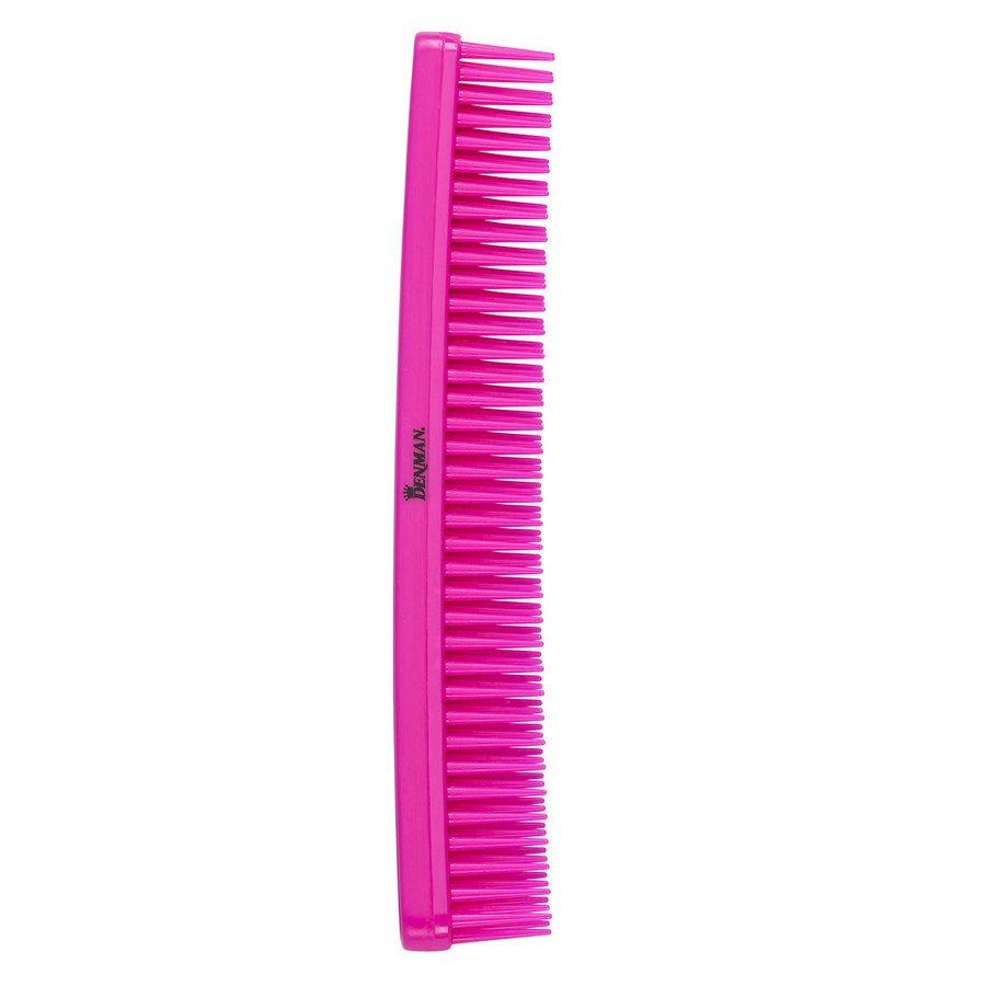 Denman D12 Detangle & Tease Comb Pink