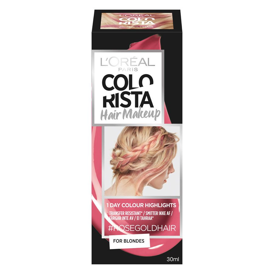 L'Oréal Paris Colorista Hair Makeup 7 Rose Gold