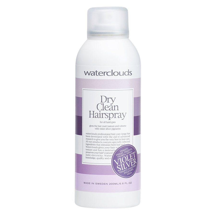 Waterclouds Dry Clean Hairspray Violet Silver 200 ml
