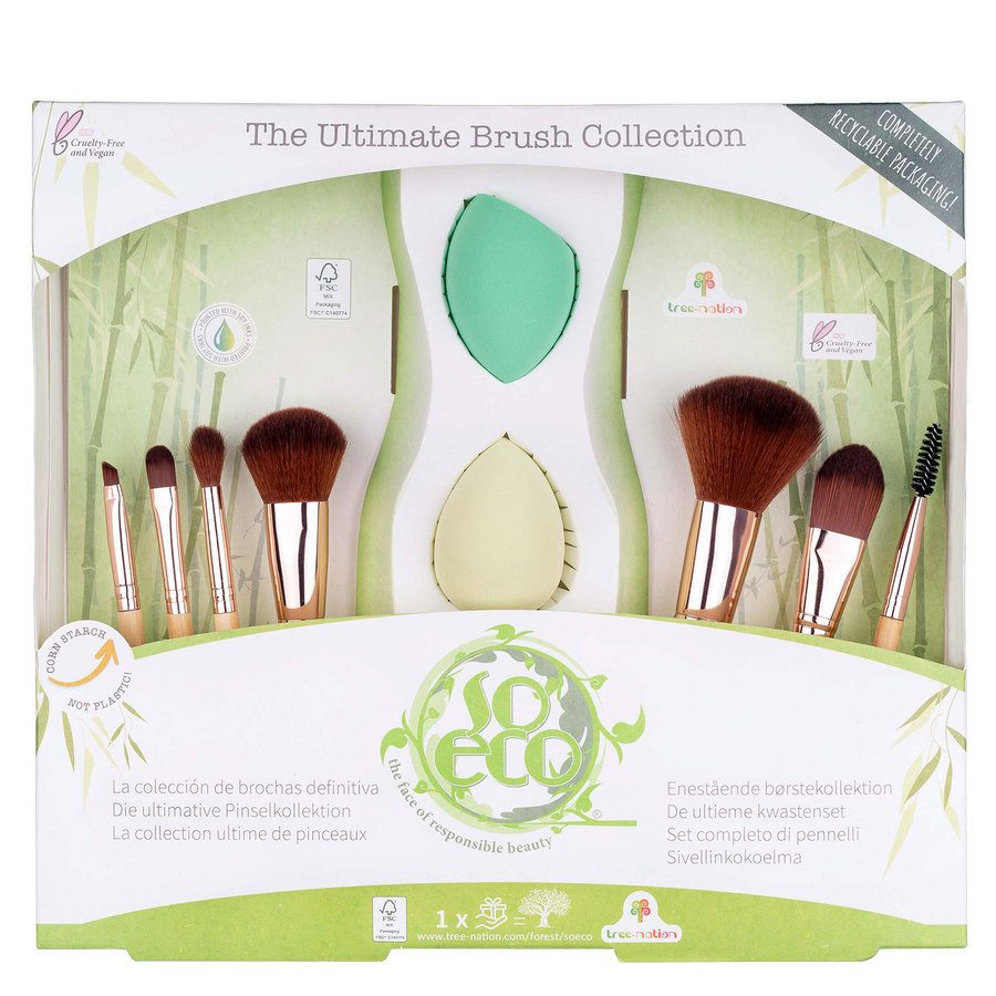 So Eco Ultimate Brush Collection 9 st