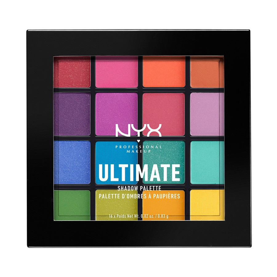 NYX Professional Makeup Ultimate Eyeshadow Palette Brights USP04 18g
