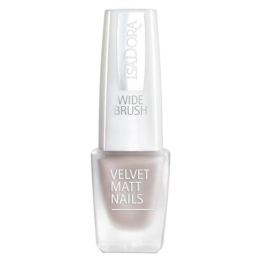 IsaDora Velvet Matt Nails #203 Velvet Greige 6 ml