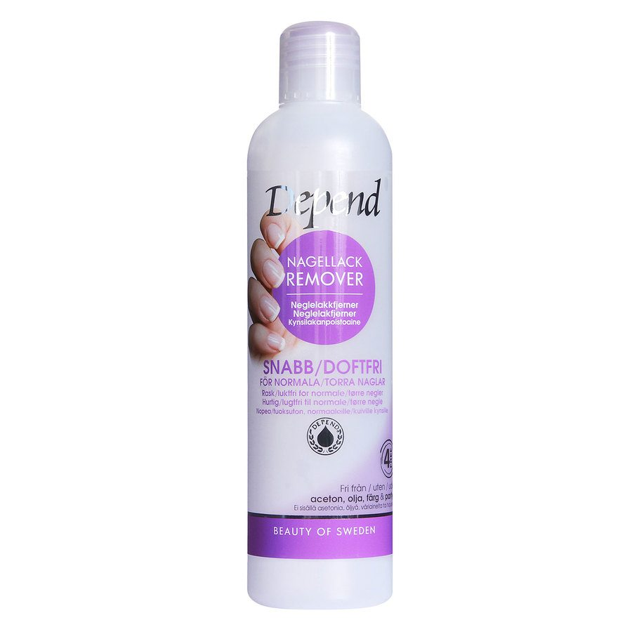 Depend Nail Polish Remover 250 ml