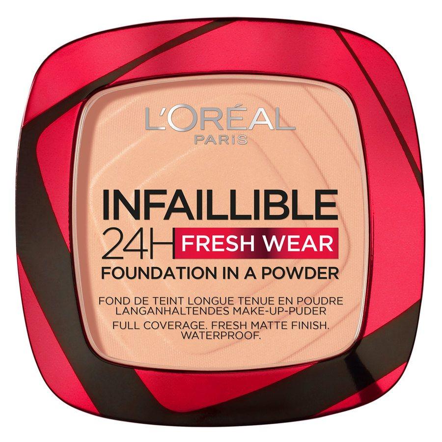 L'Oréal Paris Infaillible 24H Fresh Wear Foundation in a Powder Golden Honey 9 g