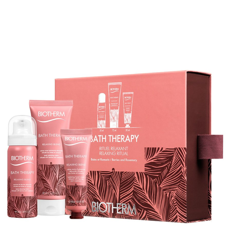 Biotherm Bath Therapy Relaxing Blend Starter Set 155ml