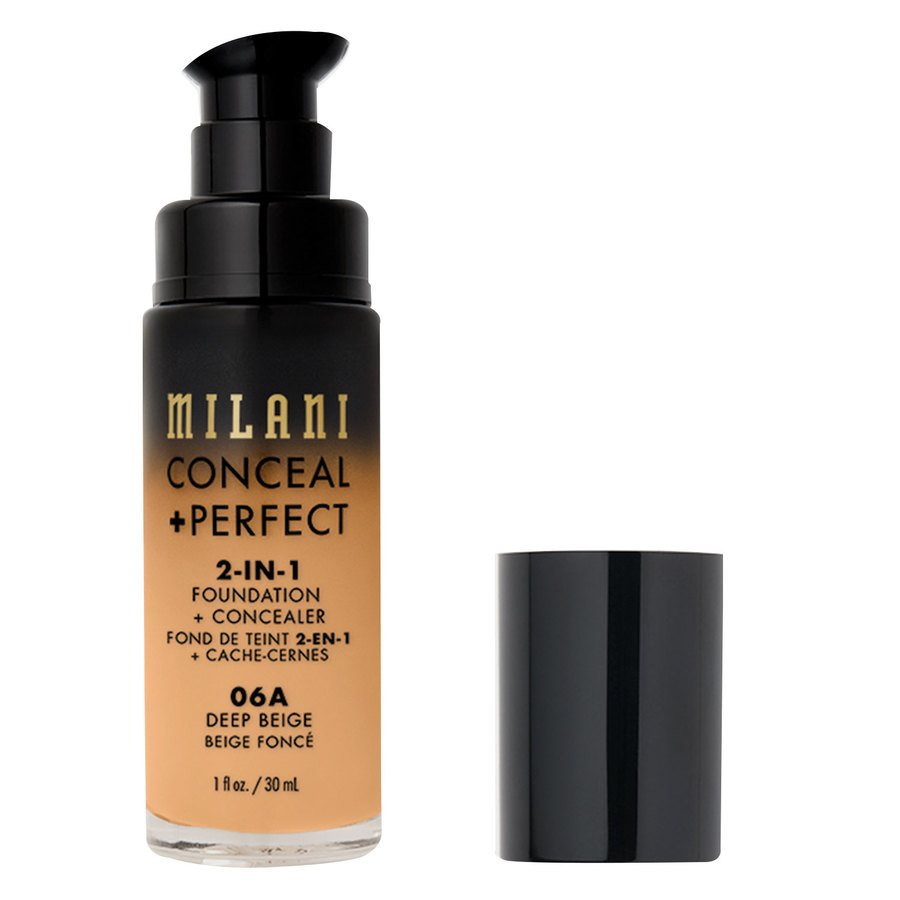 Milani Cosmetics Conceal + Perfect 2-in-1 Foundation + Concealer Deep Beige 30ml