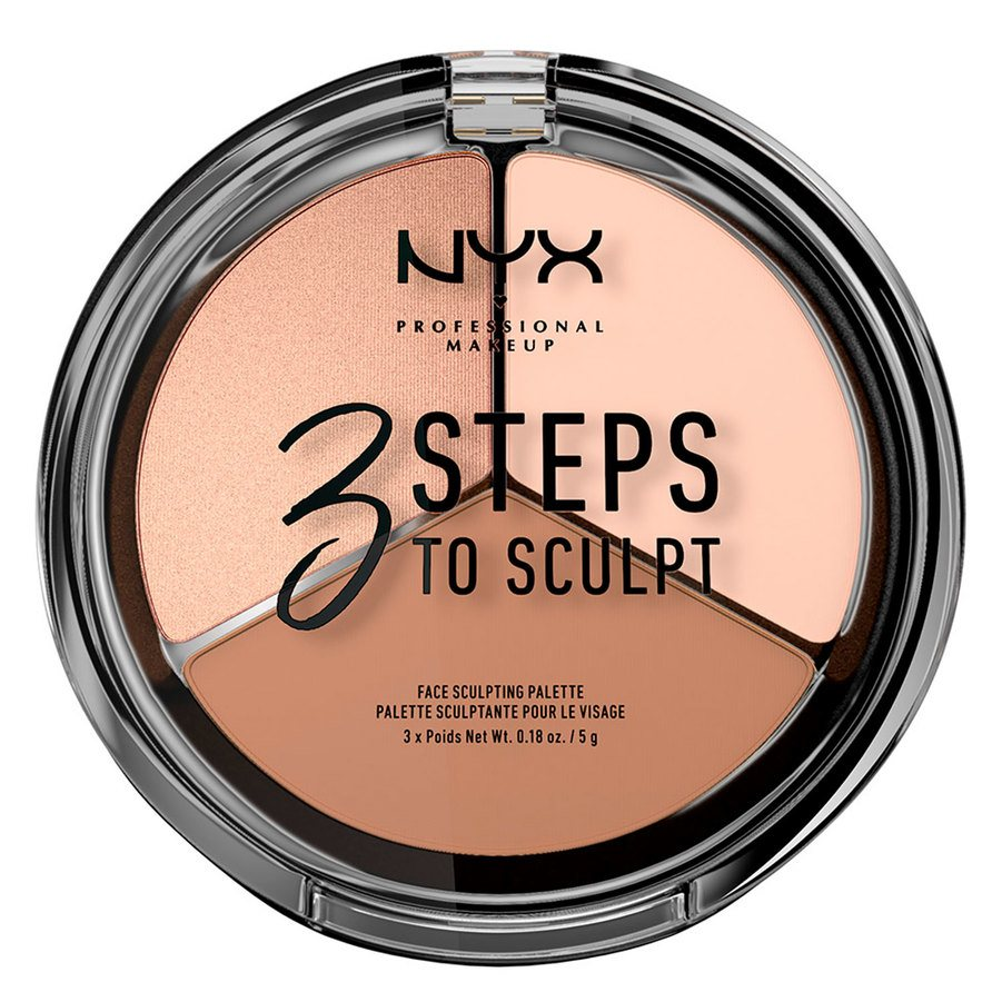 NYX Professional Makeup 3 Steps To Sculpt Fair 5 g