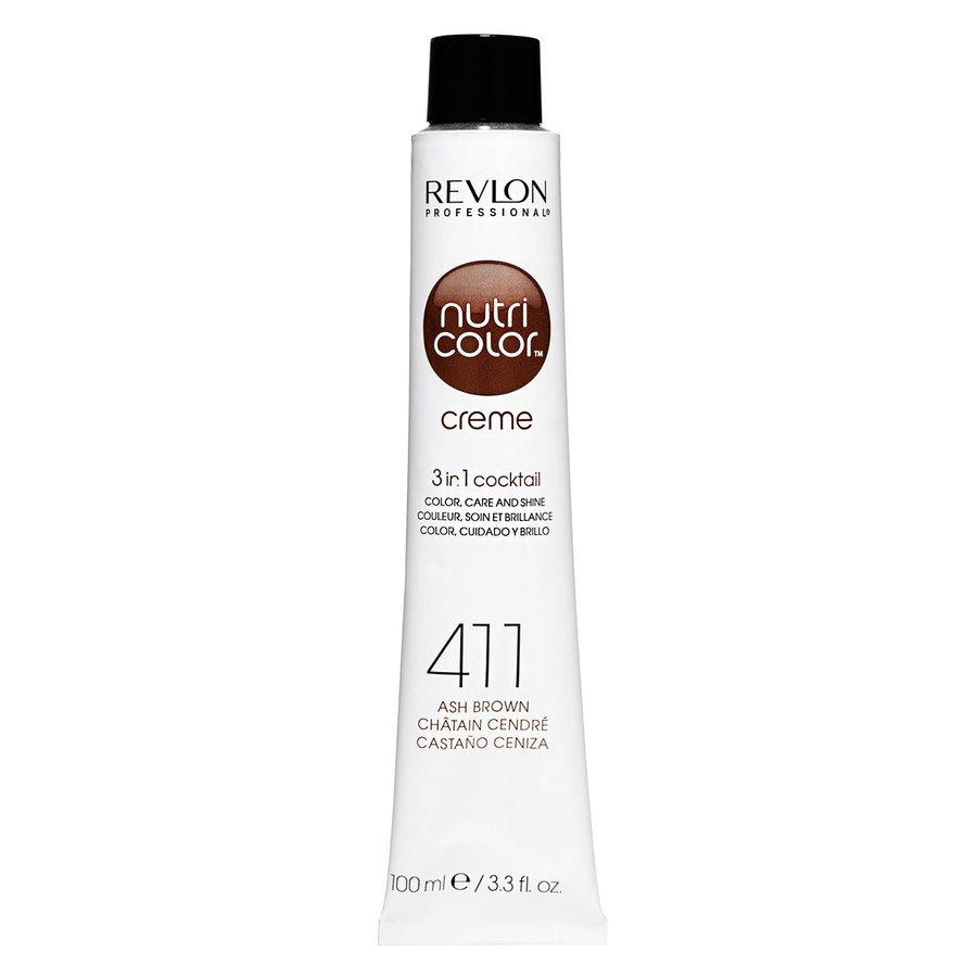Revlon Professional Nutri Color Creme 100ml #411 Brown