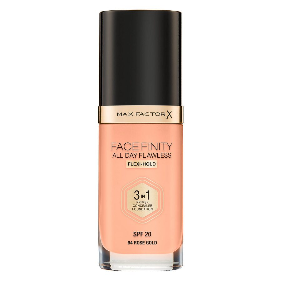 Max Factor Facefinity All Day Flawless 3-in-1 Foundation C64 Rose Gold 30 ml