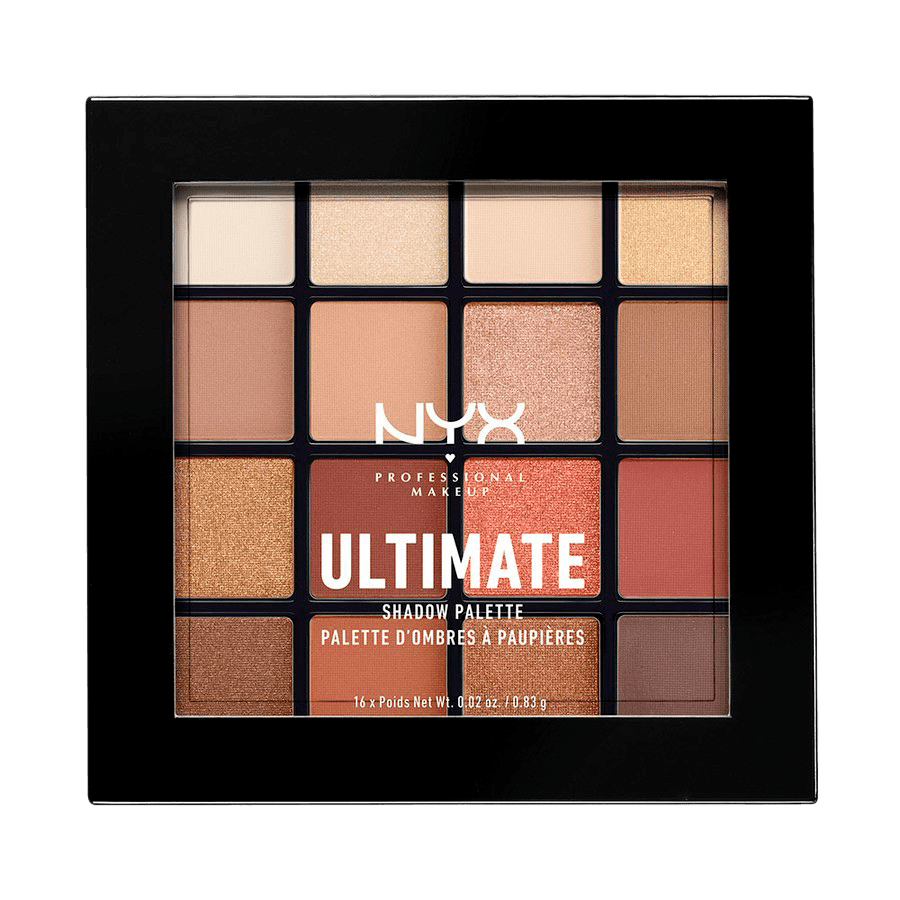 NYX Professional Makeup Ultimate Eyeshadow Palette Warm Neutrals USP03 18g